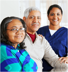 elders and the caregiver